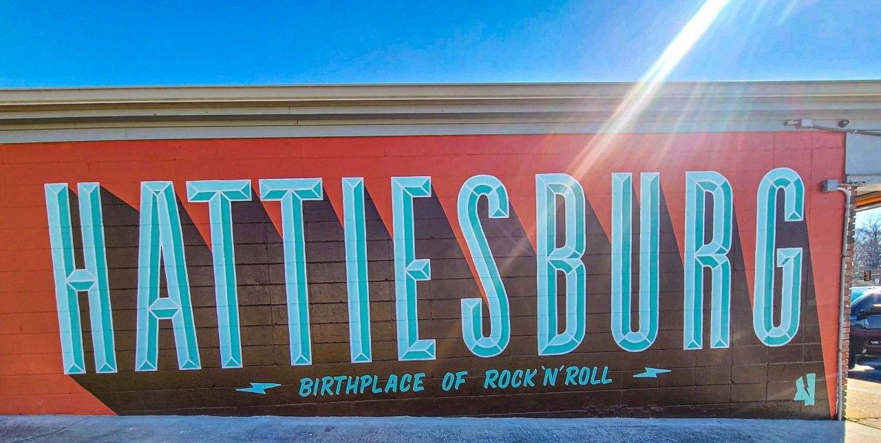 Hattiesburg mural